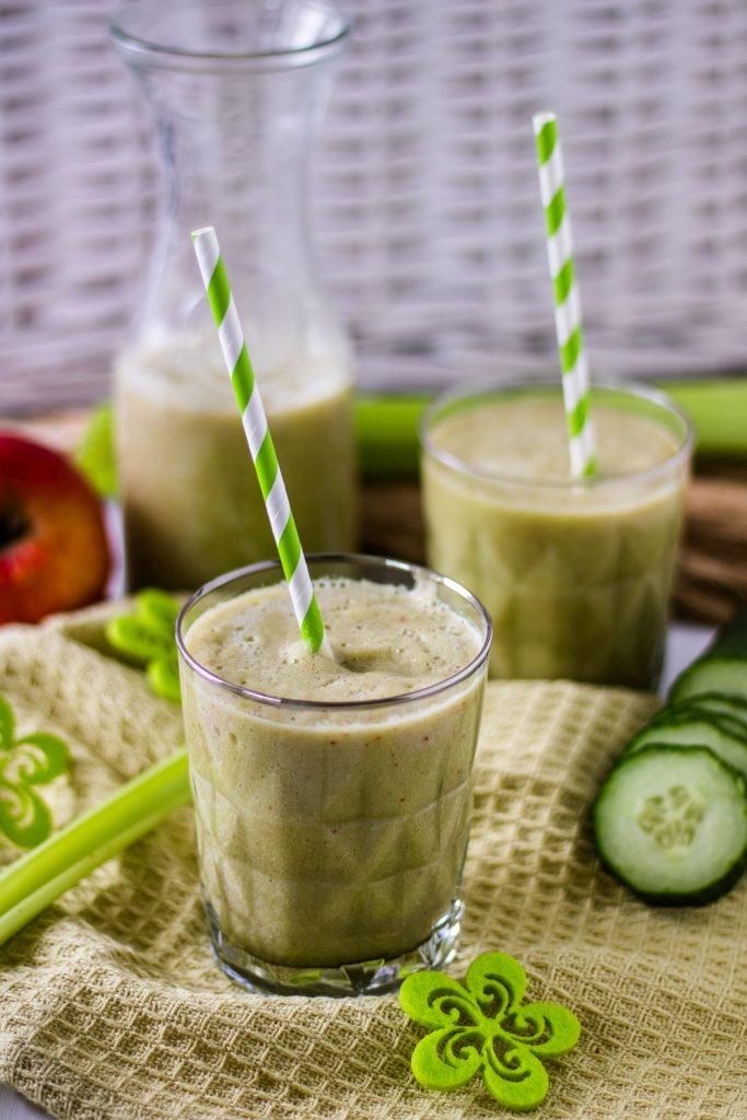 Selleriesmoothie : Basische Ernährung für Anfänger