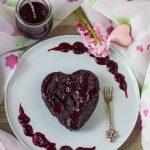 Veganer und glutenfreier Mini-Brownie