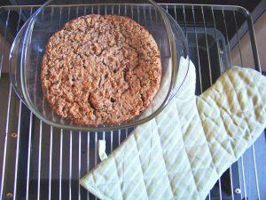 Baked Oatmeal vegan in Auflaufform