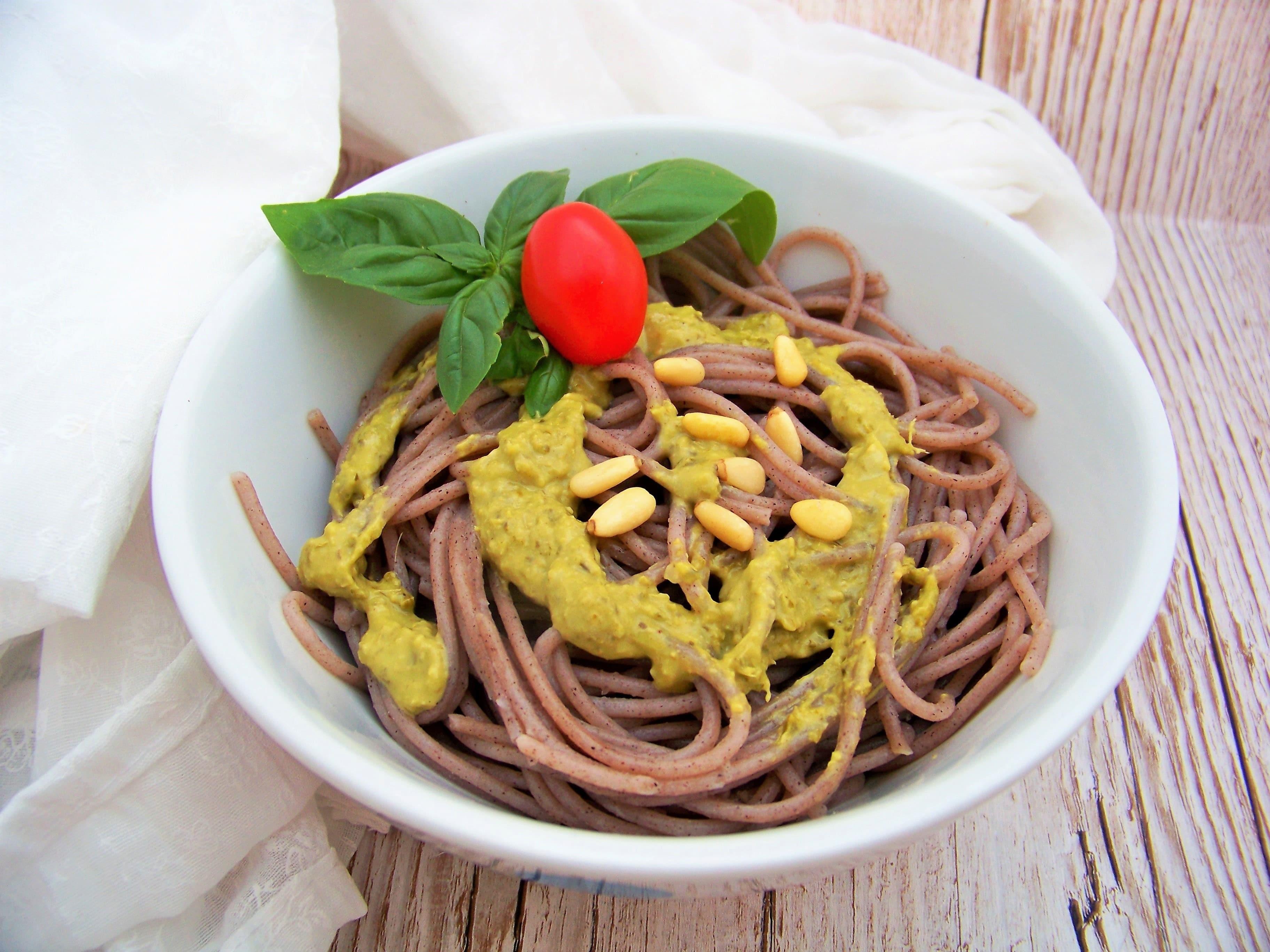 Buchweizen-Spaghetti von Tesanobio