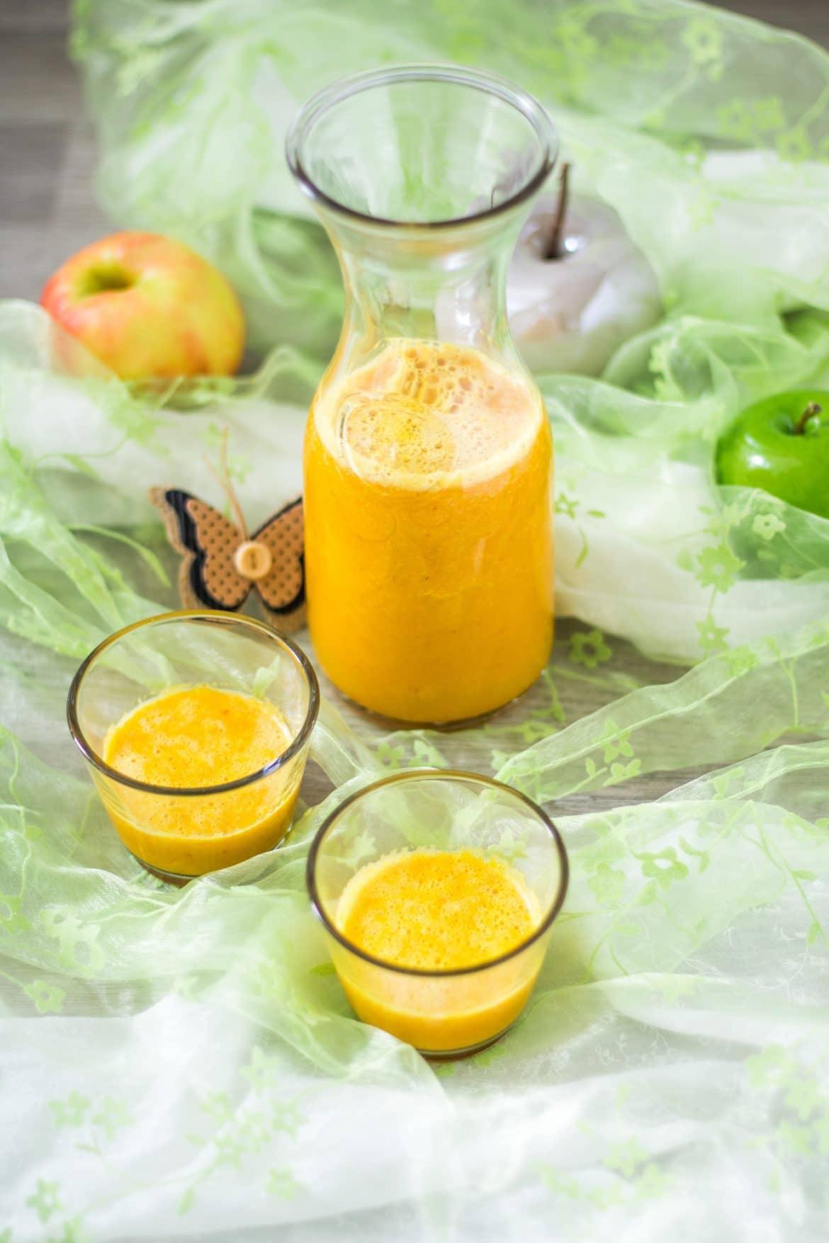 Ingwer-Shot mit Apfel