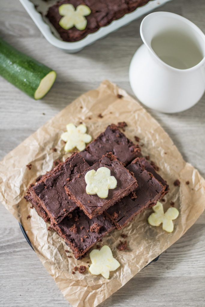 Vegane Zucchini-Brownies