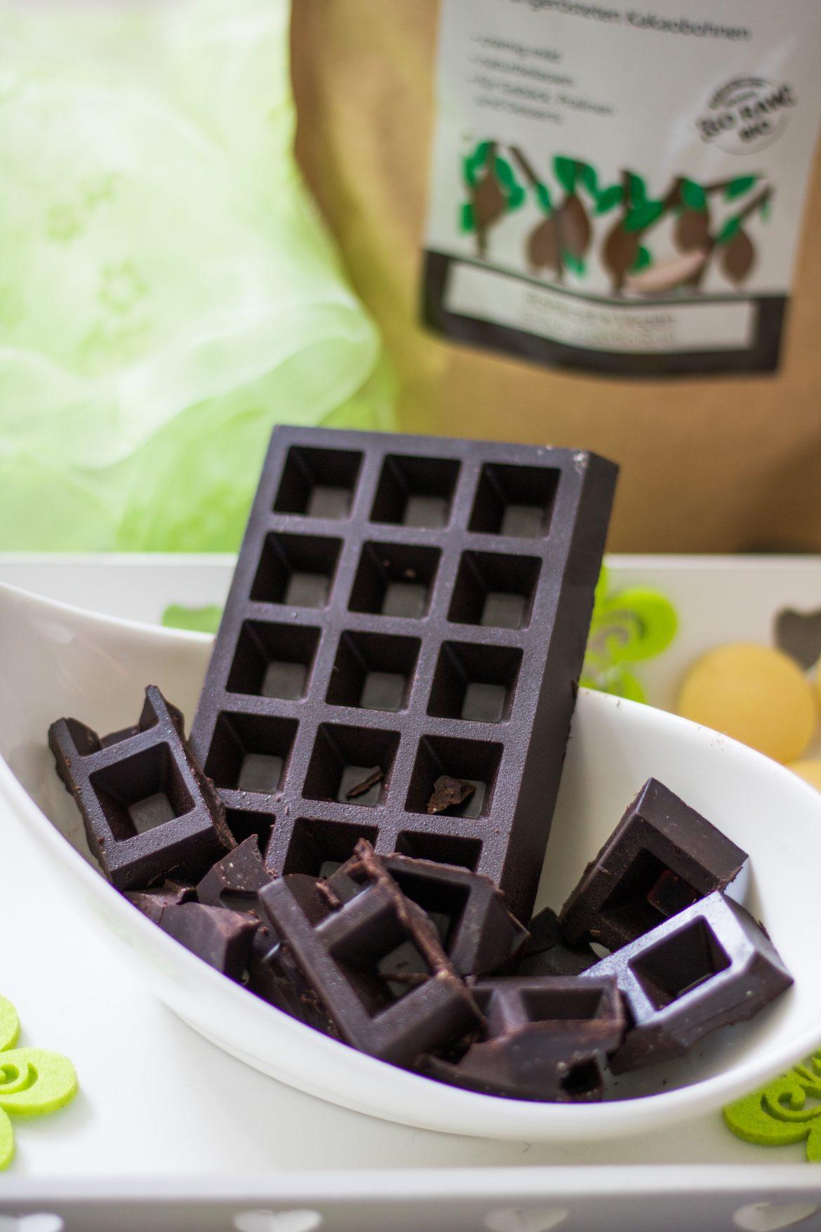 Schokolade mit Kakaobutter selber machen