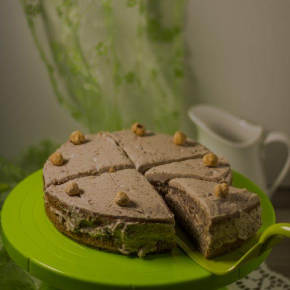 Maronen-Kokos-Biscuittorte