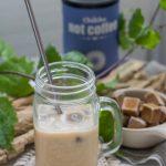 Koffeinfreier Eiskaffee mit Chikko Not Coffee