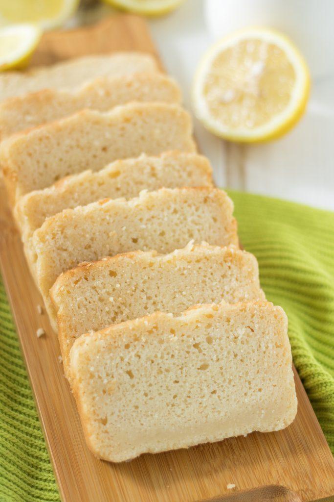 Veganer und glutenfreier Zitronenkuchen
