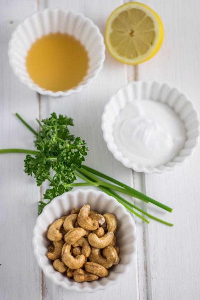 Vegane Sour Cream selber machen Zutaten