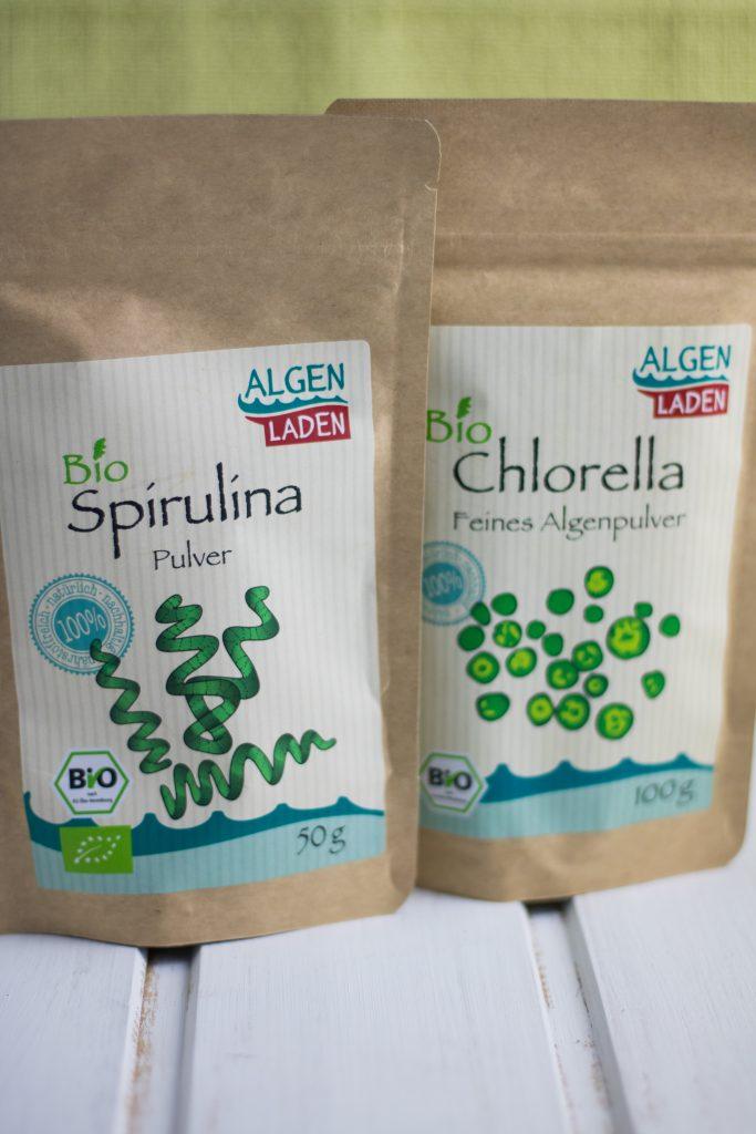 Spirulina und Chlorella