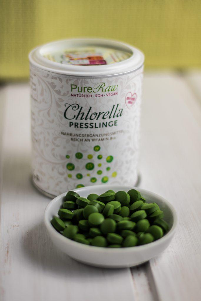 Chlorella Presslinge